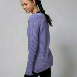 Ivivva by Lululemon Sweater Busy to be Cozy Pullover sz 8